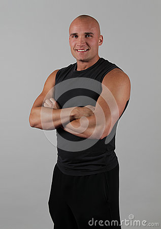 Fitness Instructor Smiling