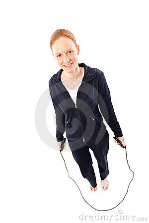Fitness with jumping rope