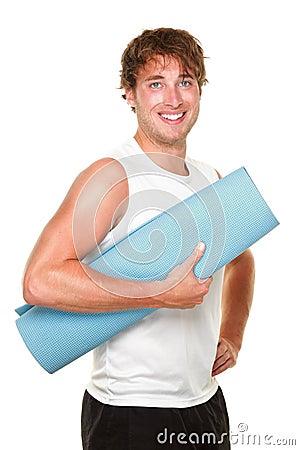 Free Fitness Man Isolated Stock Photo - 19580100