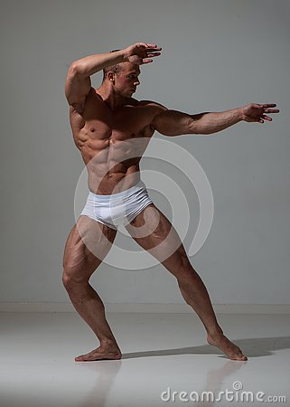 Free Fitness Model Stock Photography - 135409862