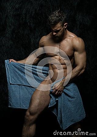 Free Fitness Model Stock Image - 63829361