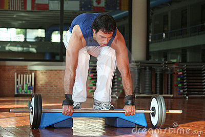 Fitness & Power Men With Yoke