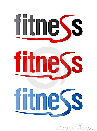 Fitness signs.