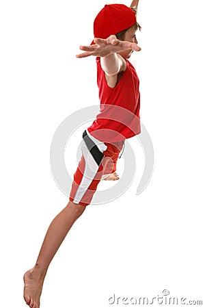 Fitness star jumps