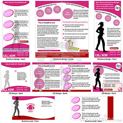 Fitness stationary template