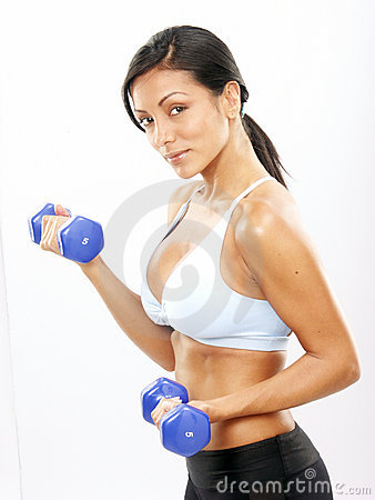 Free Fitness Woman. Royalty Free Stock Image - 19582586