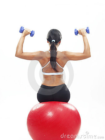 Free Fitness Woman. Royalty Free Stock Images - 19995309