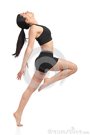 Free Fitness Woman Dancing Doing Aerobic Exercises Royalty Free Stock Photo - 39876065