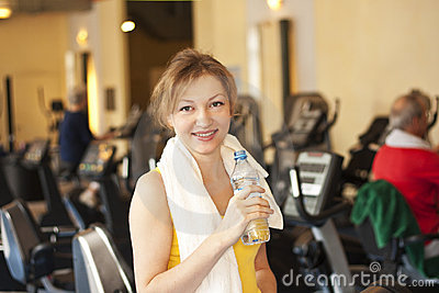 Fitness woman lifestyle smile body