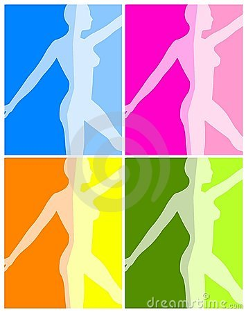 Fitness Yoga or Dance Backgrounds