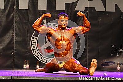 Fitparade bodybuilding championship Editorial Photography