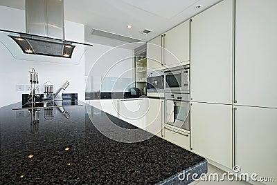 Fitted modern kitchen