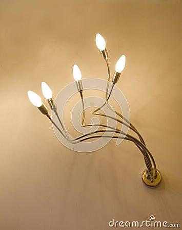 Fitting light modern