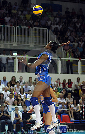 FIVB WOMEN S VOLLEYBALL CHAMPIONSHIP - ITALY Editorial Image
