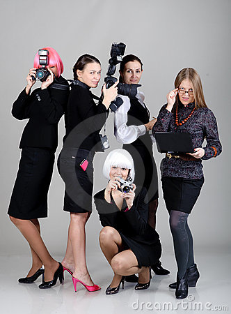 Five businesswomen