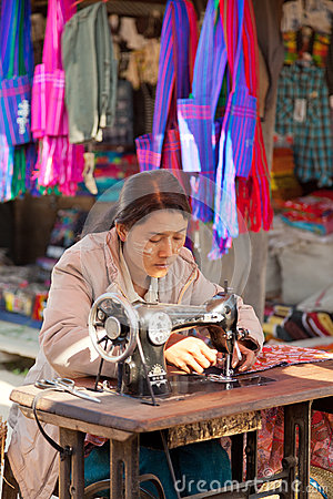 Free Five-day Market, Inle Lake Stock Images - 49306434