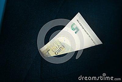 Five Euro bill