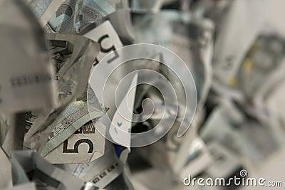 Five euros bills