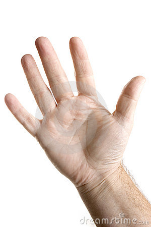 five fingera