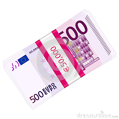 Five hundred euro pack