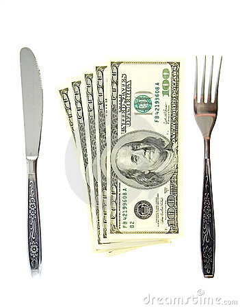 Five hundret dollars meal