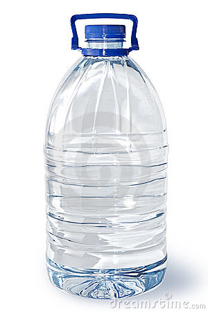 Five-liter bottle of water