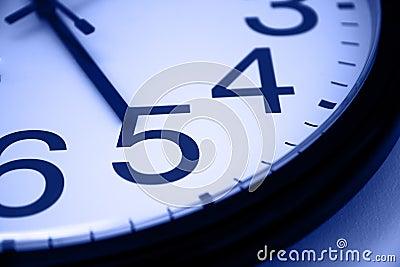 Five o clock - blue