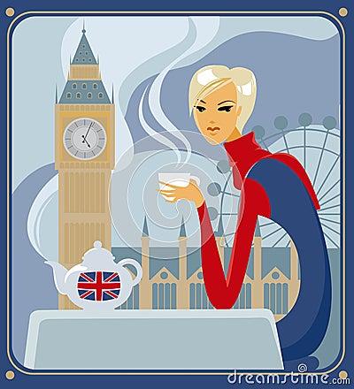 Free Five-o-clock Tea In London Stock Photo - 10946640