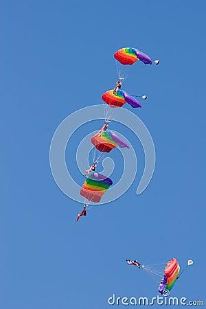 Five paratrooper