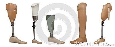 Five prosthetic leg