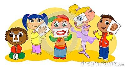 Five senses kids
