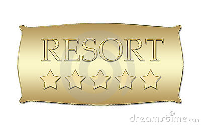 Five stars Resort board