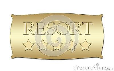 Five stars Resort board