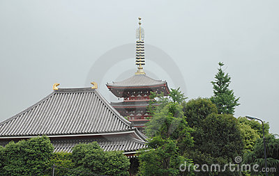 Five Storied Pagoda, Senso-Ji