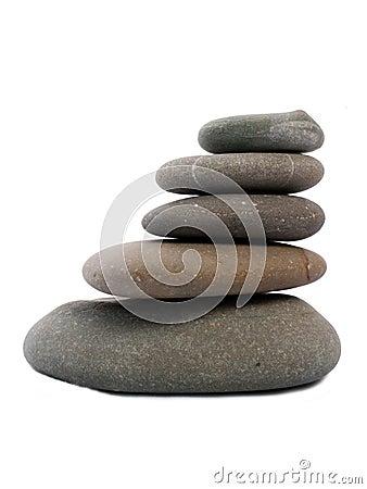 Five Zen stones