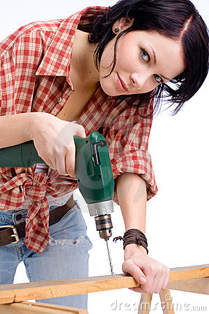Free Fix-it Woman Stock Image - 2168611