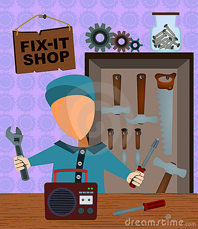 Fix-it shop