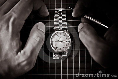 Fixing an Old watch