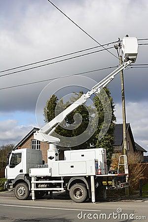 Fixing power line