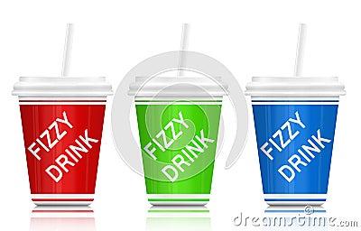 Fizzy drinks.