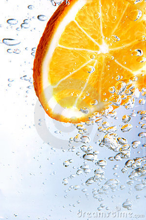 Free Fizzy Orange Royalty Free Stock Image - 431816