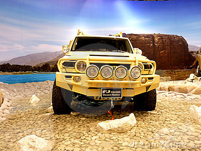 FJ Cruiser Desert Raider Editorial Image