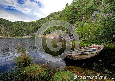 Fjord boat scenic