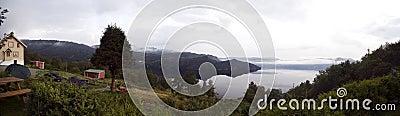 Fjord panorama.