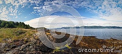 Fjord shore