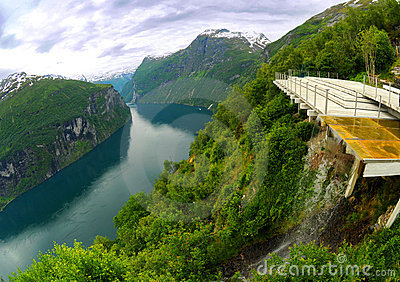 Fjord viewpoint