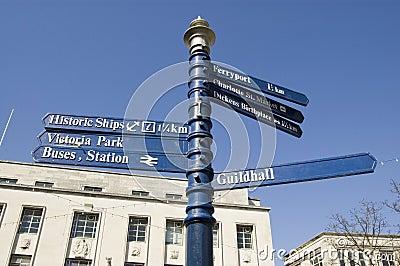 Flèches indicatrices de Portsmouth