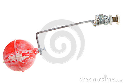 Flöte fungeringsventil för vattenbehållare