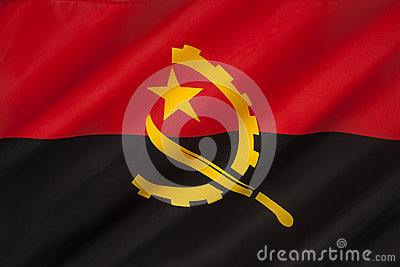 Flag of Angola - Africa