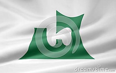 Flag of Aomori - Japan